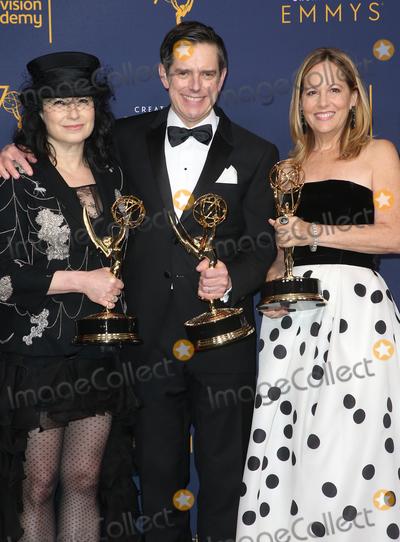 Amy Sherman-Palladino Photo - 08 September 2018 - Los Angeles California - Amy Sherman-Palladino Daniel Palladino Robin Urdang 2018 Creative Arts Emmys Awards held at Microsoft Theater Photo Credit F SadouAdMedia