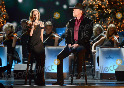 Lily Costner Photo - 08 November 2013 - Nashville Tennessee - Lily Costner Trace Adkins 2013 CMA Country Christmas Taping held at Bridgestone Arena Photo Credit Laura FarrAdMedia