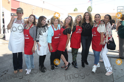 Anne-Marie Johnson Photo - 06 September 2018-  Hollywood California - Leron Gubler Kate Linder Amy Aquino Anglica Mara Erin Murphy Ellen K Angelica Vale Catherine Bach Anne-Marie Johnson Captain Cory Palka At Hollywood Chamber Of Commerces 24th Annual Police and Firefighter appreciation Day held at LAPD Hollywood Division Photo Credit Faye SadouAdMedia