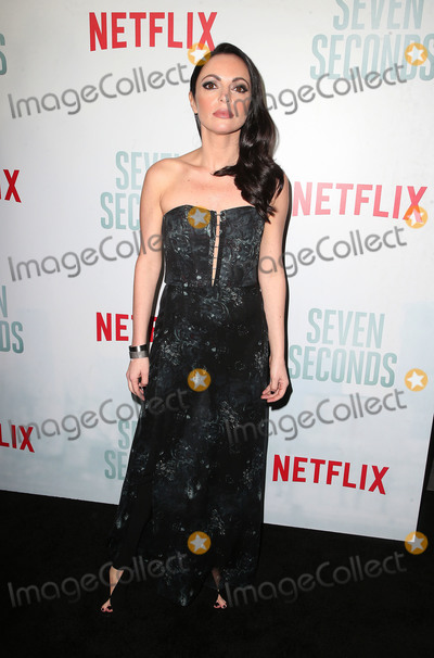 Adriana DeMeo Photo - 23 February 2018 - Beverly Hills California - Adriana DeMeo Netflixs Seven Seconds Premiere Screening and Post-Reception held at The Paley Center for Media Photo Credit F SadouAdMedia