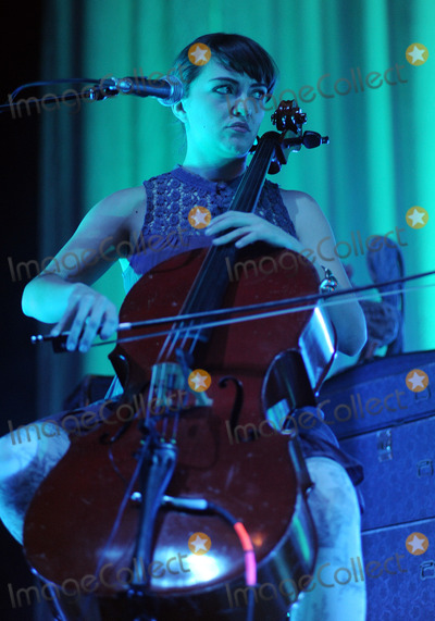 Neyla Pekarek Photo - 05 February 2013 - Pittsburgh PA - Cello player NEYLA PEKAREK for the American folk rock band THE LUMINEERS performs to a Sold Out concert at a stop on their US tour held at the Stage AE  Photo Credit Jason L NelsonAdMedia