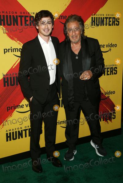 Logan Lerman Photo - 19 February 2020 - Los Angeles California - Logan Lerman Al Pacino the world premiere of Hunters held at DGA Theater Photo Credit FSAdMedia