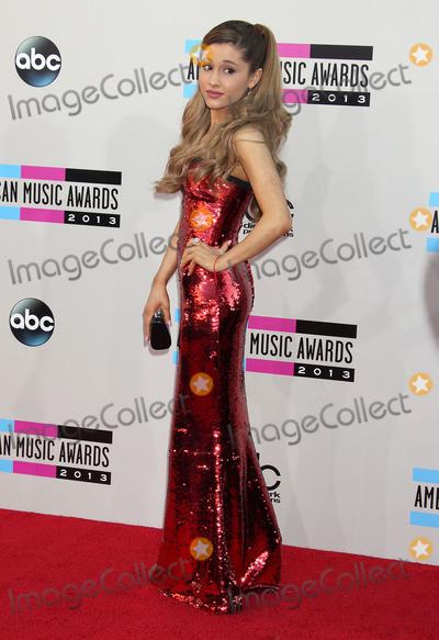Ariana Grande Photo - 24 November 2013 - Los Angeles California - Ariana Grande 2013 American Music Awards held at Nokia Theatre LA Live Photo Credit Russ ElliotAdMedia