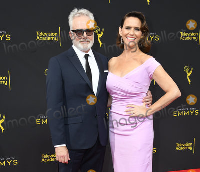 Amy Landecker Photo - 15 September 2019 - Los Angeles California - Bradley Whitford Amy Landecker 2019 Creative Arts Emmys Awards - Arrivals held at Microsoft Theater LA Live Photo Credit Birdie ThompsonAdMedia