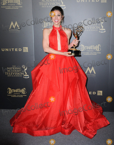 Kate Mansi Photo - 30 April 2017 - Pasadena California - Kate Mansi 44th Annual Daytime Emmy Awards - Pressroom held at Pasadena Civic Centerin Pasadena Photo Credit Birdie ThompsonAdMedia