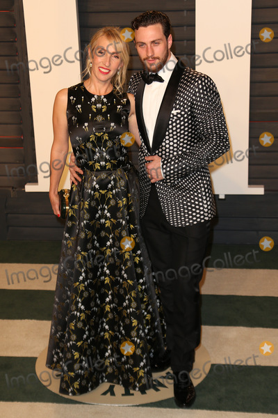 Aaron Taylor-Johnson Photo - 28 February 2016 - Beverly Hills California - Sam Taylor-Johnson Aaron Taylor-Johnson 2016 Vanity Fair Oscar Party hosted by Graydon Carter following the 88th Academy Awards held at the Wallis Annenberg Center for the Performing Arts Photo Credit Byron PurvisAdMedia