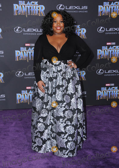 Amber Riley Photo - 29 January 2018 - Hollywood California - Amber Riley Marvel Studios Black Panther World Premiere held at Dolby Theater Photo Credit Birdie ThompsonAdMedia