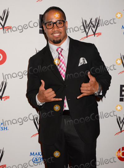 Jey Uso Photo - 15 August 2013 - Beverly Hills Ca - Jey Uso WWE  E Entertainments SuperStars For Hope supporting Make-A-Wish at The Beverly Hills Hotel in Beverly Hills Ca Photo Credit BirdieThompsonAdMedia
