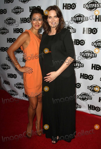 Angelique  Cabral Photo - 17 July 2011 - West Hollywood California - Angelique Cabral and Emily Deschanel 2011 Outfest Film Festival Screening Of The Perfect Family Closing Night- Arrivals  Held At The DGA Theatre Photo Credit Kevan BrooksAdMedia