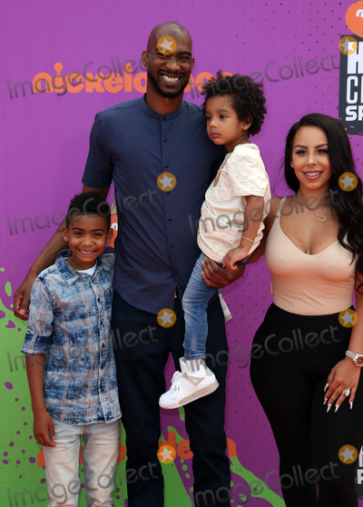 Corey Brewer Photo - 13 July 2017 - Los Angeles California - Corey Brewer Monique Mongalo Nickelodeon Kids Choice Sports Awards 2017 held at Pauley Pavilion Photo Credit F SadouAdMedia