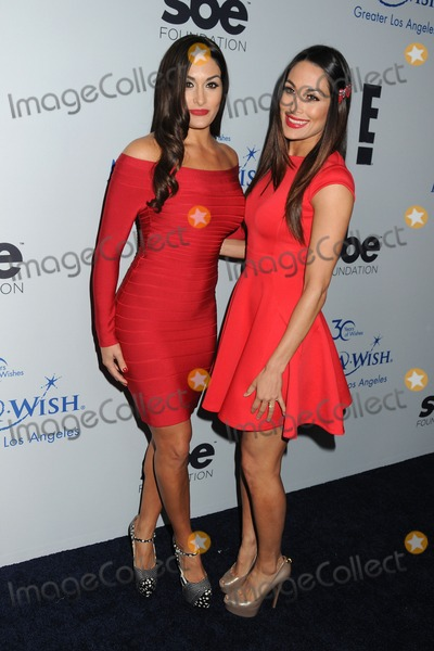 The Bella Twins Photo - 4 December 2013 - Beverly Hills California - Brianna Garcia-Colace Stephanie Nicole Garcia-Colace The Bella Twins The Make-A-Wish Foundation of Los Angeles 2013 Wishing Well Winter Gala held at the Beverly Wilshire Hotel Photo Credit Byron PurvisAdMedia