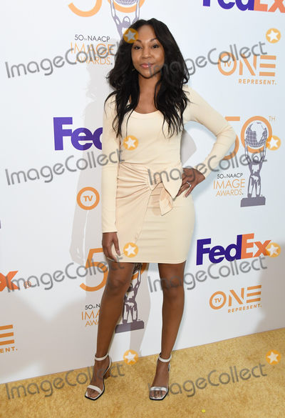 Amberia Allen Photo - 09 March 2019 - Hollywood California - Amberia Allen 50th NAACP Image Awards Nominees Luncheon held at the Loews Hollywood Hotel Photo Credit Birdie ThompsonAdMedia