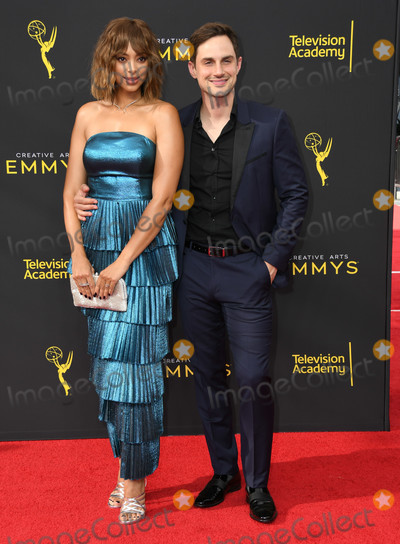 Amber Stevens Photo - 14 September 2019 - Los Angeles California - Amber Stevens West Andrew J West 2019 Creative Arts Emmys Awards - Arrivals held at Microsoft Theater LA Live Photo Credit Birdie ThompsonAdMedia