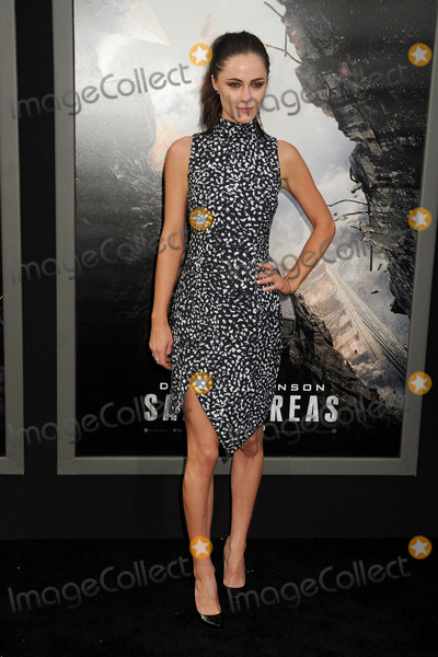 Alexandra Park Photo - 26 May 2015 - Hollywood California - Alexandra Park San Andreas Los Angeles Premiere held at the TCL Chinese Theatre Photo Credit Byron PurvisAdMedia