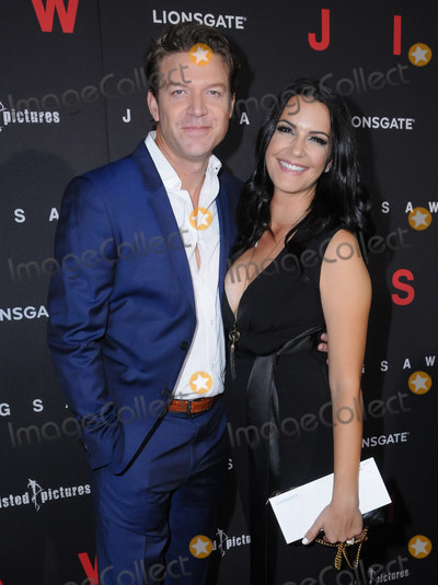 Natalia Cigliuti Photo - 25 October  2017 - Hollywood California - Matt Passmore Natalia Cigliuti Jigsaw Los Angeles Premiere held at ArcLight Hollywood in Hollywood Photo Credit Birdie ThompsonAdMedia