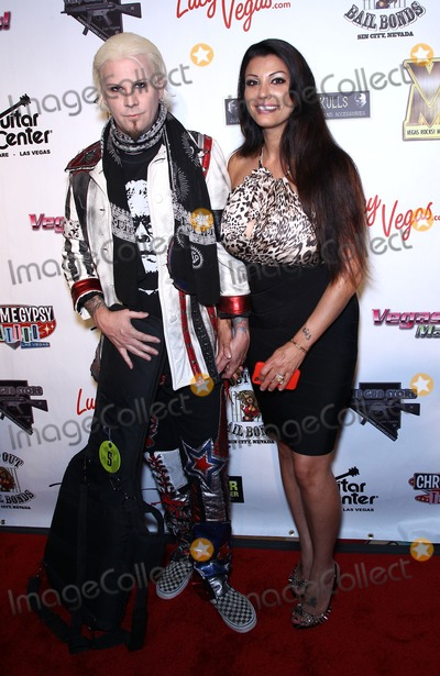 Aria Giovanni Photo - 21 August 2011 - Las Vegas Nevada - John 5 Aria Giovanni   The second Annual Vegas Rocks Magazine awards rocks the Las Vegas Hilton Hotel and Casino Las Vegas NV  Photo Credit MJTAdMedia
