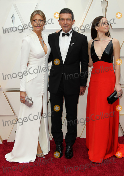 Antonio Banderas Photo - 09 February 2020 - Hollywood California - Nicole Kimpel Antonio Banderas and Stella Banderas 92nd Annual Academy Awards presented by the Academy of Motion Picture Arts and Sciences held at Hollywood  Highland Center Photo Credit AdMedia