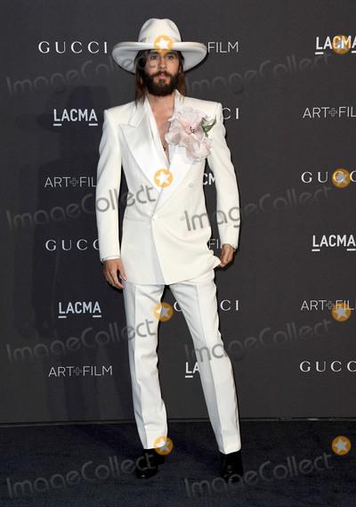 Jared Leto Photo - 03 November 2018 - Los Angeles California - Jared Leto 2018 LACMA Art  Film Gala held at LACMA Photo Credit Birdie ThompsonAdMedia
