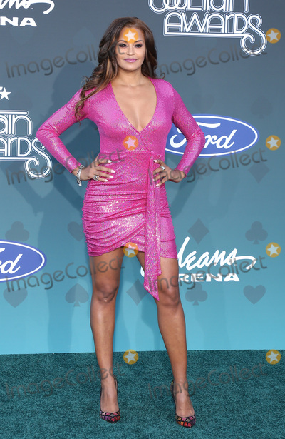 Claudia Jordan Photo - 17 November 2019 - Las Vegas NV - Claudia Jordan 2019 Soul Train Awards Red Carpet Arrivals at Orleans Arena Photo Credit MJTAdMedia