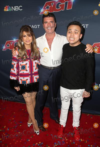 Paula Abdul Photo - 18 September 2019 - Hollywood California - Paula Abdul Simon Cowell Kodi Lee Americas Got Talent Season 14 Finale Red Carpet held at Dolby Theatre Photo Credit FSadouAdMedia