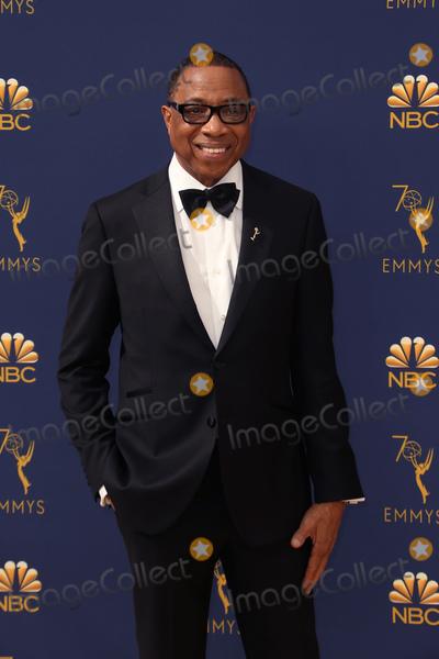 Hayma Washington Photo - 17 September 2018 - Los Angles California - Hayma Washington 70th Primetime Emmy Awards held at Microsoft Theater LA LIVE Photo Credit Faye SadouAdMedia