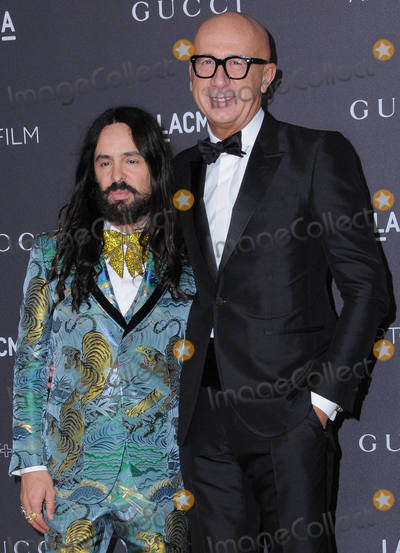 Alessandro Michele Photo - 29 October 2016 - Los Angeles California Alessandro Michele Marco Bizzarri  2016 LACMA ArtFilm Gala honoring Robert Irwin and Kathryn Bigelow presented by Gucci held at LACMA Photo Credit Birdie ThompsonAdMedia
