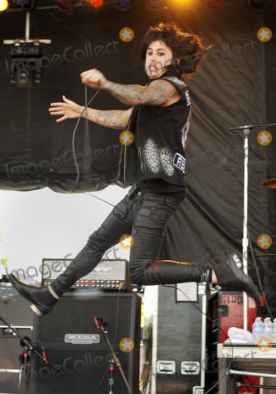 Ronnie Radke Photo - 19 May 2012 - Columbus OH -  Lead vocalist RONNIE RADKE of the band FALLING IN REVERSE performs at Day 1 of the  Rock On The Range Festival held at Crew Stadium Photo Credit Jason L NelsonAdMedia