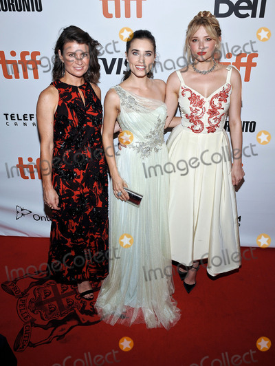Alix Angelis Photo - 08 September 2016 - Toronto Ontario Canada - Carrie Lazar Alix Angelis Haley Bennett The Magnificent Seven Premiere during the 2016 Toronto International Film Festival held at Roy Thomson Hall Photo Credit Brent PerniacAdMedia