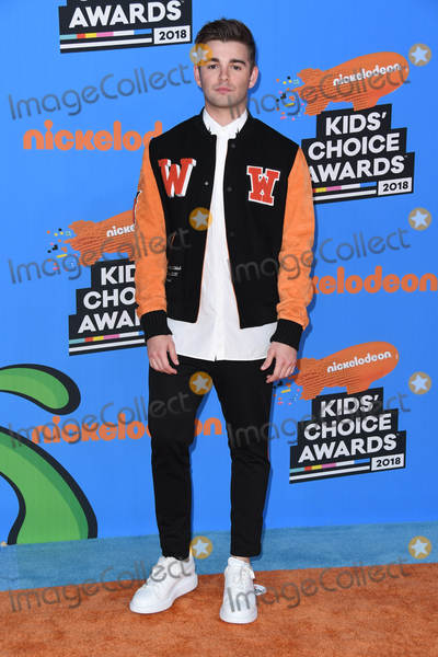 Jack Griffo Photo - 24 March 2018 - Inglewood California - Jack Griffo Nickelodeons 2018 Kids Choice Awards  held at The Forum Photo Credit Birdie ThompsonAdMedia