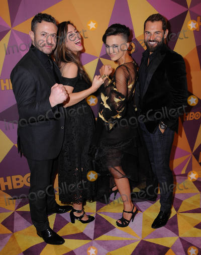 Alin Sumarwata Photo - 07 January 2018 - Beverly Hills California - Warren Brown Roxanne McKee Alin Sumarwata Daniel MacPherson 2018 HBO Golden Globes After Party held at The Beverly Hilton Hotel in Beverly Hills Photo Credit Birdie ThompsonAdMedia