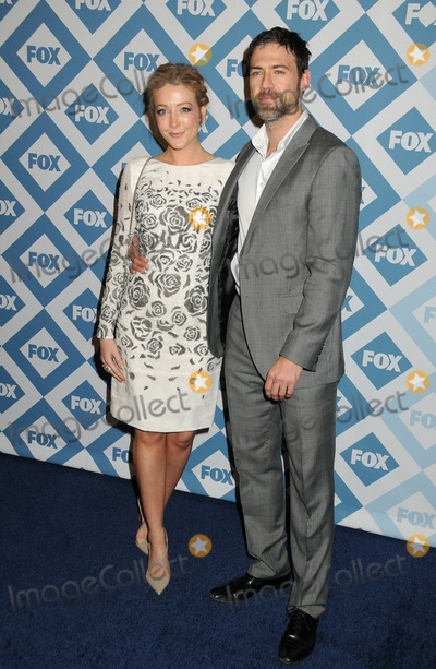 ADAM RAYNER Photo - 13 January 2014 - Pasadena California - Jennifer Finnigan Adam Rayner FOX All-Star Party Winter 2014 TCA Press Tour held at the Langham Huntington Hotel Photo Credit Byron PurvisAdMedia