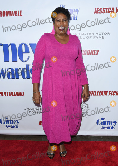 CARLEASE BURKE Photo - 28 October 2018 - Santa Monica California - Carlease Burke 2018 Carney Awards held at The Eli and Edythe Broad Stage Photo Credit Birdie ThompsonAdMedia