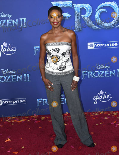 Adina Porter Photo - 07 November 2019 - Hollywood California - Adina Porter Disneys Frozen 2 Los Angeles Premiere held at Dolby Theatre Photo Credit Birdie ThompsonAdMedia