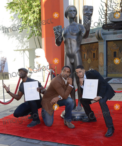 Aldis Hodge Photo - 26 January  - Hollywood Ca - Aldis Hodge Jason George Neil Brown Jr SAG Awards Actor visits Hollywoods TCL Chinese Theater with SAG Awards nominees Aldis Hodge and Neil Brown Jr held at TCL Chinese Theater  Photo Credit Birdie ThompsonAdMedia