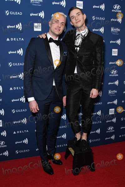 Adam Rippon Photo - 28 March 2019 - Beverly Hills California - Adam Rippon 30th Annual GLAAD Media Awards held at Beverly Hilton Hotel Photo Credit Birdie ThompsonAdMedia
