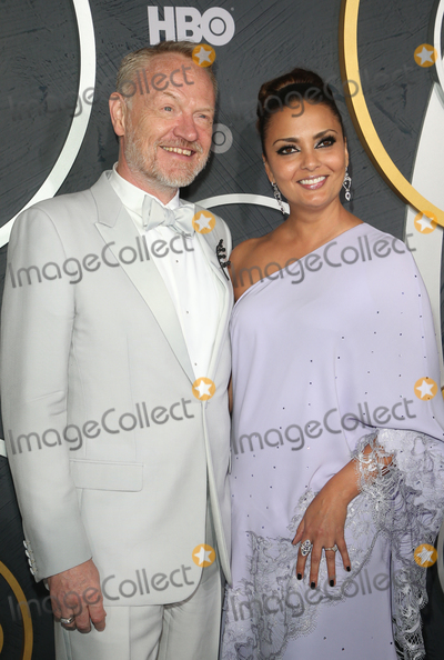 Allegra Riggio Photo - 22 September 2019 - West Hollywood California - Jared Harris Allegra Riggio the 2019 HBO Post Emmy Award Reception held at Pacific Design Center Photo Credit FSadouAdMedia