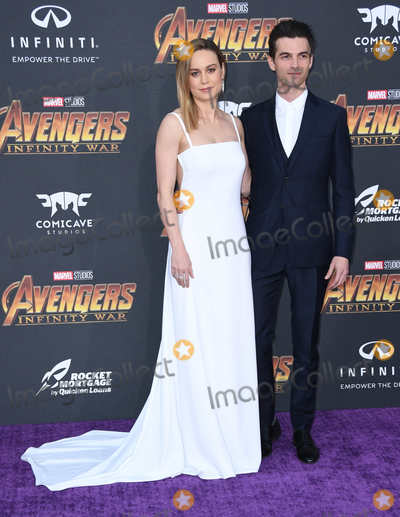 Alex Greenwald Photo - 23 April 2018 -  Hollywood California - Brie Larson Alex Greenwald Disney and Marvels Avengers Infinity War Los Angeles Premiere held at Dolby Theater Photo Credit Birdie ThompsonAdMedia