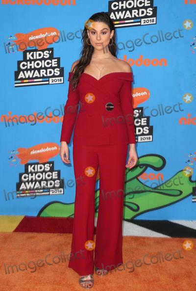 Kira Kosarin Photo - 24 March 2018 - Inglewood California - Kira Kosarin Nickelodeons 2018 Kids Choice Awards  held at The Forum Photo Credit F SadouAdMedia