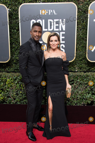 SCOTT EVANS Photo - 07 January 2018 - Beverly Hills California - Scott Evans and Kit Hoover 75th Annual Golden Globe Awards held at the Beverly Hilton Photo Credit HFPAAdMedia