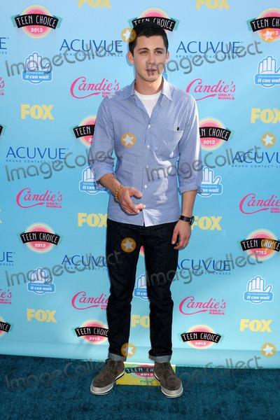 Logan Lerman Photo - 11 August 2013 - Universal City California - Logan Lerman 2013 Teen Choice Awards - Arrivals held at Gibson Amphitheatre Photo Credit Byron PurvisAdMedia