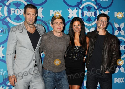 Angelique Cabral Photo - 9 September 2013 - Santa Monica California - Geoff Stults Chris Lowell Angelique Cabral Parker Young 2013 FOX Fall Eco-Casino Party held at The Bungalow Photo Credit Byron PurvisAdMedia