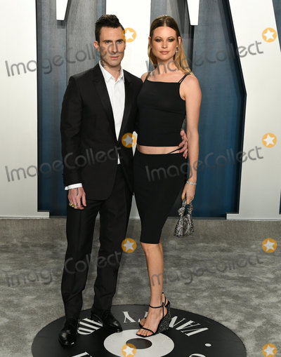 Adam Levine Photo - 09 February 2020 - Los Angeles California - Adam Levine Behati Prinsloo 2020 Vanity Fair Oscar Party following the 92nd Academy Awards held at the Wallis Annenberg Center for the Performing Arts Photo Credit Birdie ThompsonAdMedia