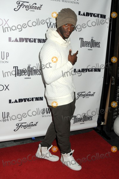 Aldis Hodge Photo - 14 December 2014 - Los Angeles California - Aldis Hodge Ladygunn Magazine  Wildfox Holiday Party held at the Sofitel Hotel Photo Credit Byron PurvisAdMedia