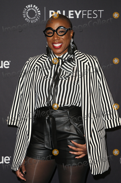 Aisha Hinds Photo - 17 March 2019 - Hollywood California - Aisha Hinds The Paley Center For Medias 2019 PaleyFest LA - 9-1-1 held at The Wolf Theatre at The Dolby Theatre Photo Credit Faye SadouAdMedia