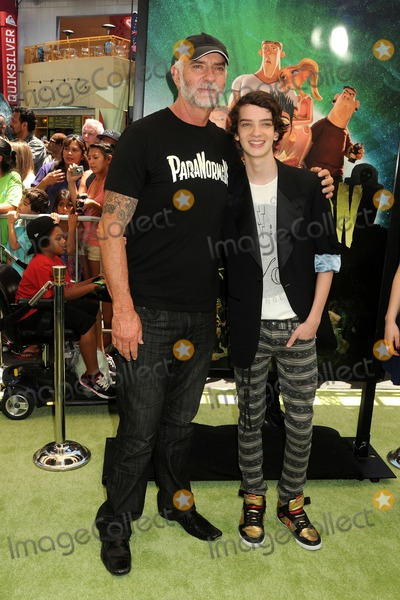 Andy McPhee Photo - 5 August 2012 - Universal City California - Andy McPhee Kodi Smit-McPhee ParaNorman Los Angeles Premiere held at AMC CityWalk Stadium 19 Theatre Photo Credit Byron PurvisAdMedia