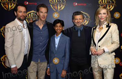 Andy Serkis Photo - 24 April 2018 - Las Vegas Nevada -  Benedict Cumberbatch Andy Serkis Rohan Chand Matthew Rhys Cate Blanchett  Warner Brothers Studio Presentation at CinemaCon 2018 at Caesars Palace Photo Credit MJTAdMedia