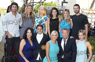 Yolanda Hadid Photo - 31 May 2013 - Hollywood California - Brody Jenner Gigi Hadid (top left)Yolanda Hadid David Foster is honored with a star on the Hollywood Walk of Fame Photo Credit Russ ElliotAdMedia