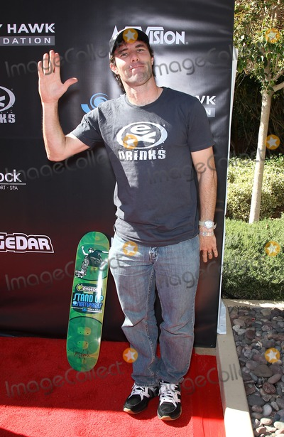 Andy MacDonald Photo - 05 November 2011 - Las Vegas Nevada - Andy Macdonald  Tony Hawks 3rd Annual Stand Up For Skateparks fundraiser at Red Rock Station Hotel and Casino   Photo Credit MJTAdMedia