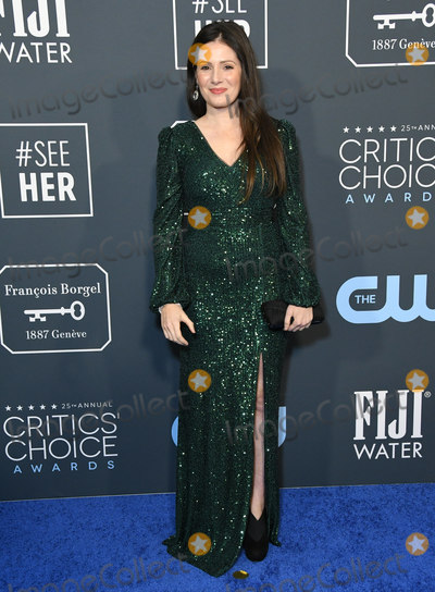 Aleksa Palladino Photo - 12 January 2020 - Santa Monica California - Aleksa Palladino 25th Annual Criticis Choice Awards - Arrivals held at Barker Hangar Photo Credit Birdie ThompsonAdMedia