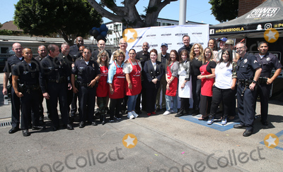 Angelica Vale Photo - 06 September 2018-  Hollywood California - Ellen K Anglica Mara Angelica Vale Tai Babilonia Kate Linder Catherine Bach Erin Murphy Mitch OFarrell Deputy Chief Armando Hogan Leron Gubler Guests Hollywood Chamber Of Commerces 24th Annual Police and Firefighter appreciation Day held at LAPD Hollywood Division Photo Credit Faye SadouAdMedia